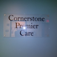 cornerstonspremiercarewallsign
