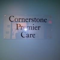 cornerstonspremiercarewallsign