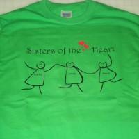 sisctersoftheheartt-shirt